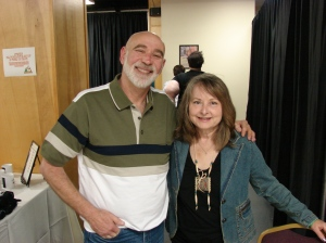 With John Zaffis at MI Paracon, 2013