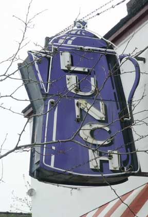 Kenosha diner sign