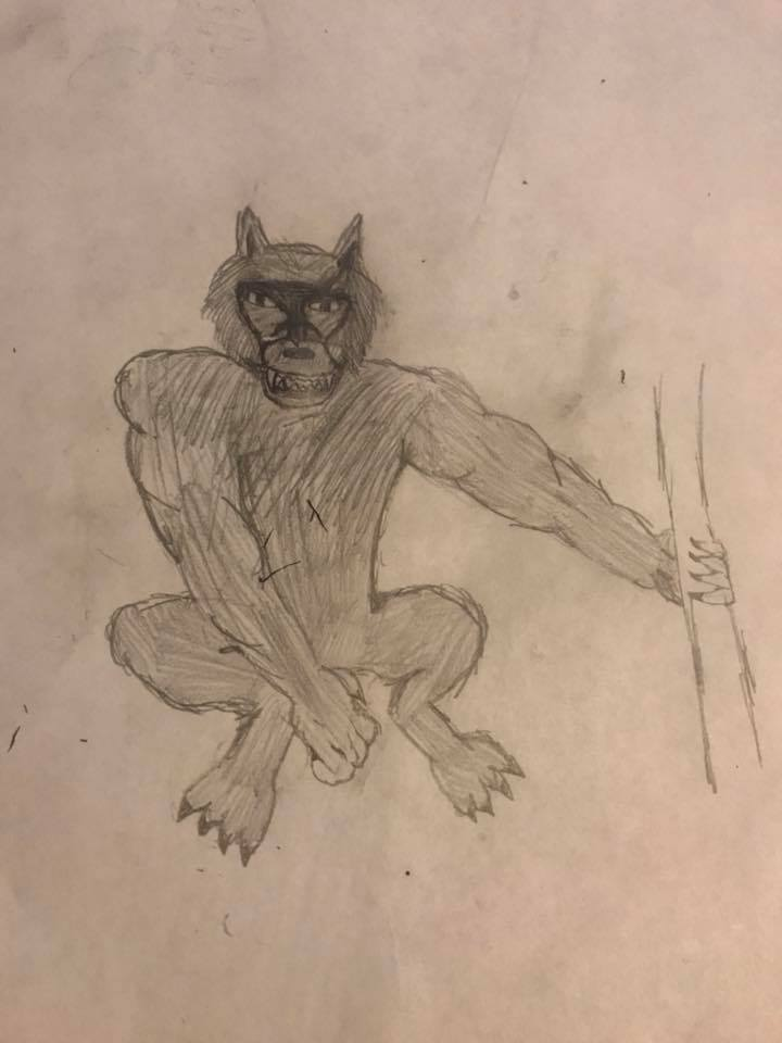 Montana Manwolf Report Another Cryptid Canid